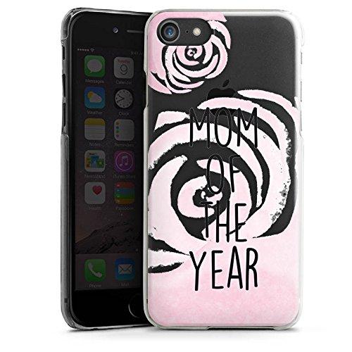 Apple iPhone X Silikon Hülle Case Schutzhülle Spruch ohne Hintergrund Mama Muttertag Hard Case transparent