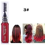 PEPECARE 13 Farben Haarfärbemittel Creme temporäre ungiftig Haarfarbe Mascara Einmalige Haarfarbe (C)