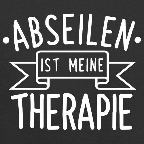 Abseilen ist meine Therapie - Herren T-Shirt - 13 Farben Schwarz