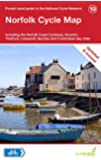 Norfolk Cycle Map: Including the Norfolk Coast Cycleway, Norwich, Thetford, Lowestoft, Beccles and 5 Individual Day Rides