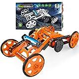 HNEMI 4WD Juguetes de Auto para niños Construcción de Bricolaje Conjunto de vehículos de Montaje Creativo, Regalos para niños a Partir de 8 años (Naranja)