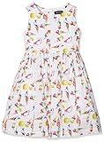BLUE SEVEN Mädchen A-Linie Kleid kl Md Kleid, ohne Arm, Weiß (Weiss Orig 001),104 (Herstellergröße: 4 Jahre)