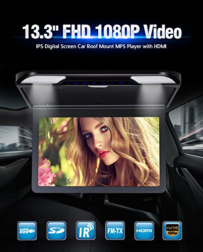 Reproductor MP5 Pantalla IPS HD 1080P HD Monitor Techo