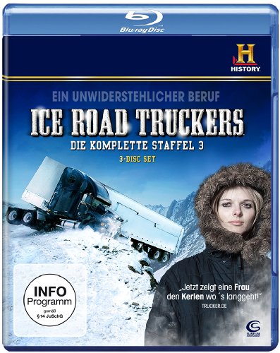 Ice Road Truckers - Staffel 3 (History) [3 Disks] [Blu-ray] hier kaufen