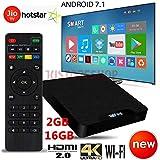 SreeTeK™️ X96™️ Tanix™️ W95 Android 7.1 Mini PC, 1GB/8GB Android TV Box Supports JIO TV & HotStar Apps, UHD 4K 1080P Smart TV Box TX3 Mini X96 Mini MXQ Pro (2GB - 16GB)