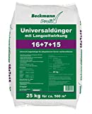 Beckmann Profi Universaldünger 16+7+15 • 25 für ca. 500 m² kg • mit Langzeitwirkung