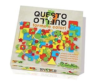 CreativaMente 201-Juegos de Caja questo e quello Formas y Colores