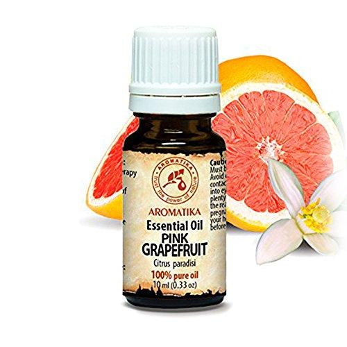 Grapefruit Öl Ätherisches 10ml - Citrus Paradisi - Südafrika - 100% Reine & Natürliche Grapefruitöl für Guten Schlaf - Beauty - Wellness - Schönheit - Aromatherapie - Entspannung - Spa - Aroma Diffuser - Duftlampe - Raumbeduftung - Aroma - Trocken-milch-bad