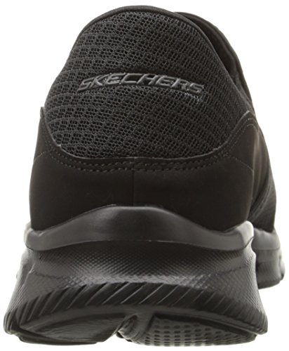 Skechers Equalizer-Persistent, Baskets Basses Homme Noir (Black)