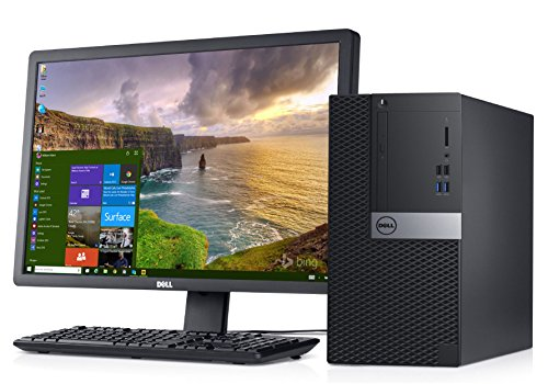 Dell Optiplex 3046 21.5-inch Mini PC (6th Gen Intel Core i5/8GB/1TB/ Windows 10 Pro/2GB AMD Radeon R5 340), Black