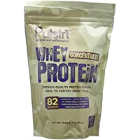 Pulsin' Unflavoured Whey Concentrate Protein Powder 250g | 82% Protein | Natural   Vegetarian