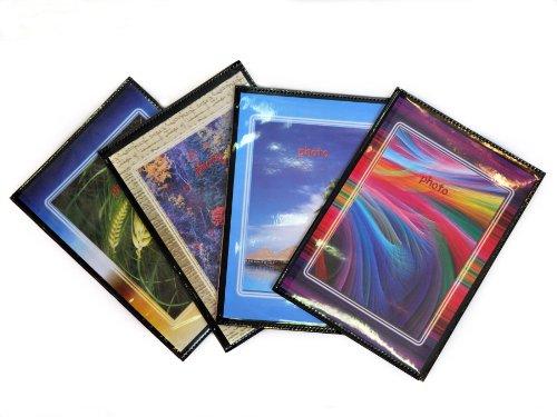 10 foto album personalizzabili fronte/retro portafoto a tasche 10x15 - 40 foto copertina morbida - conf. 10 pz.