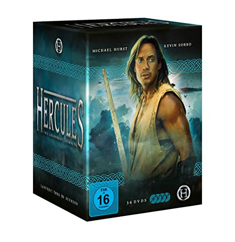 Hercules - The legendary journeys [Die komplette Serie mit 34 DVDs, Booklet und Schuber] -