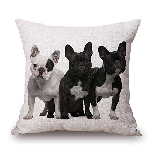 slimmingpiggy Überwurf Weihnachten Kissen des Hundes 45,7x 45,7cm/45von 45cm beste Passform für Couch Verwandte Club Wohnzimmer Küche Frau jeder Seite