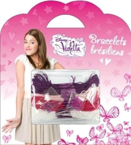 Bracelets brésiliens : Violette, ma pochette Loisirs créatifs