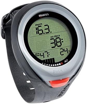 Mares Puck Pro Wrist Dive Computer for Scuba Diving - Black