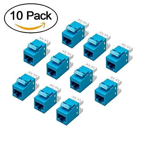 Catégorie 6 Module Ethernet, MACTIS® 180 ° Cat6 RJ45 8