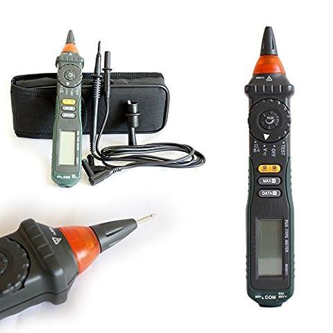 Generic Yanhonguk150730–3551yh2325yh Uity, testeur de tension de la batterie Ter détecter, Digital Digital P Detect, continuité R & Coque Pen type multimètre et étui de type Mult rechargeable
