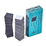 Imanes autoadhesivo Stark–70placa magnética (2x 2cm x 2mm)–para pesado Photos, cartón, Laminate, protectores especialmente fiable, fuerte resistencia–Takkis placa magnética (Negro)