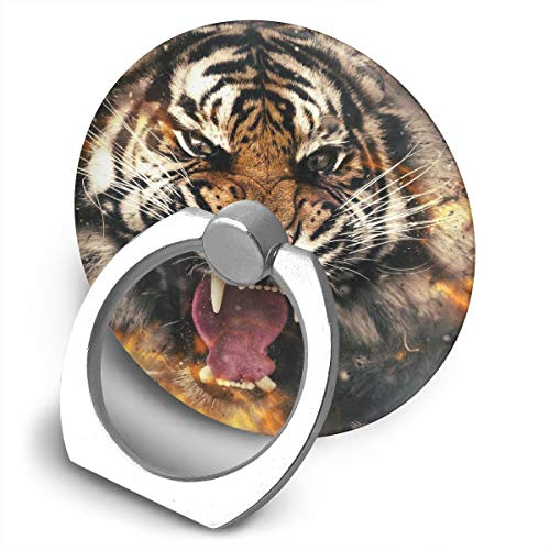Egesgegts Phone Holder Animals, Tiger, Face Phone Finger Ring Holder for All iPhones Mobile Smartphones and ()