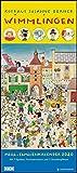 Wimmlingen 2020 – DUMONT Mega-Familienkalender mit 7 Spalten – Familienplaner mit 2 Stundenplänen und Ferientabelle - Hochformat 30,0 x 68,5 cm