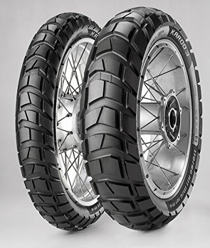 COPPIA PNEUMATICI GOMME MCE KAROO 3 M+S 90/90-21 54R + 140/80-18 70R