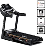 Fitkit FT100 Series Motorized Treadmill with Manual Inclination (Free Installation)