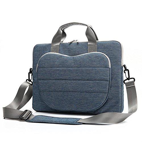 Leichter Abschnitt Mode Laptoptasche (12/13/15 Zoll) Wasserdicht Nylon Stoff Für Acer / Asus / Dell / Lenovo / Hewlett-Packard / Samsung / Sony / Toshiba / Apple Tablet-Aktentasche Laptoptasche / , Blue , 12 inches