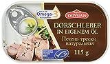 Produkt-Bild: Dovgan Dorschleber in eigenem Öl, 6er Pack (6 x 115 g)