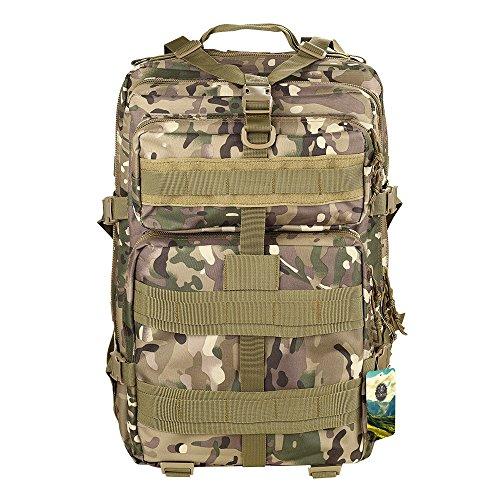 Imagen de topqsc  militar impermeable de moda 30l para excursionismo montañismo y viaje al aire libre  deportiva de alta calidad 5 colores  cp 45l