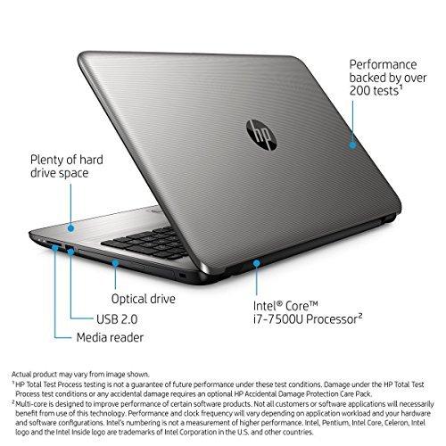 Top Performance HP 15.6 Premium Touchscreen HD Laptop, Intel i7-7500U Up to 3.5GHz, 8GB DDR4 RAM, 1TB HDD, DVD, Wifi, Bluetooth, HDMI, Webcam, Windows10 51XZ4Rx8lVL