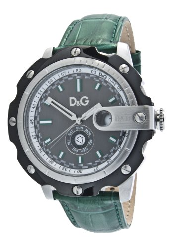 D&G Dolce&Gabbana Herren-Armbanduhr XL Analog Leder DW0575
