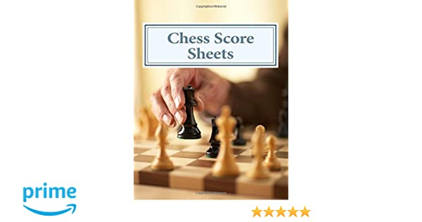 Chess Score Sheets: Amazon.Co.Uk: Peter Enfield: 9781492296881: Books