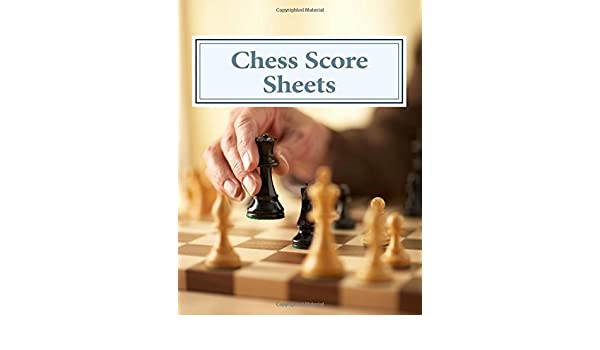 Buy Chess Score Sheets Book Online At Low Prices In India | Chess Score  Sheets Reviews U0026 Ratings   Amazon.in