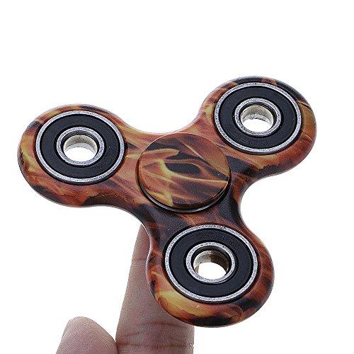 GGG spinner camuflaje ADHD ansiedad Autismo Reductor de estrés Fidget mano Tri Spinner EDC regalo de juguete color azar - 2