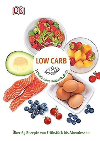 Low Carb: Schlank ohne Kohlenhydrate - Über 65 Rezepte von Frühstück bis Abendessen