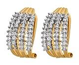 Alysa Copper Stud Earring For Women Gold...
