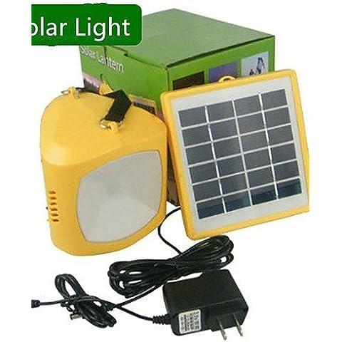 ASNSWDC® freddo colore bianco multi-uso ha portato la luce solare della lanterna banca di potere della lampada usb per il campeggio hikingg