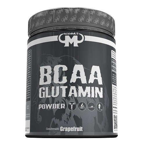 Mammut BCAA Glutamin Pulver 450g Dose Grapefruit