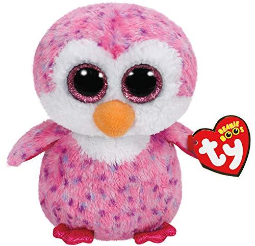 """Beanie Boo Penguin - Glider - Pink - 15cm 6"""""""
