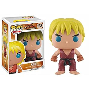 Funko Pop Ken (Street Fighter 138) Funko Pop Street Fighter