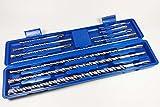 Craft-Equip 11tlg SDS Plus Bohrer Set Betonbohrer Hammerbohrer Beton Bohrersatz