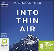 a review of krakauers into thin air Reddit gives you the best of the internet in  i can't say who was right or who was wrong but into thin air is a great  not that krakauers version isn't.