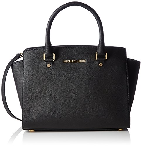 michael-kors-womens-selma-medium-satchel-black