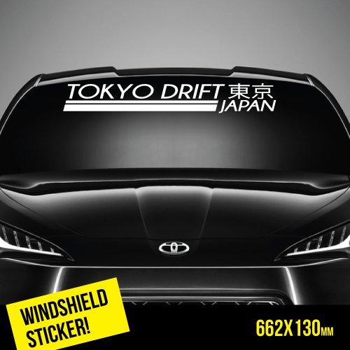 TOKYO DRIFT Windshield TOP JDM Sticker (Drift-autos Tokyo)