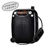 #4: SHIDU S611 UHF Wireless Voice Amplifier Portable Rechargeable Multifunctional With LED Display Amplify Time 15 hours