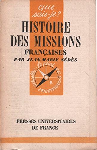 Histoire des missions francaises