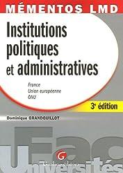 Institutions politiques et administratives : France, Union européenne, ONU