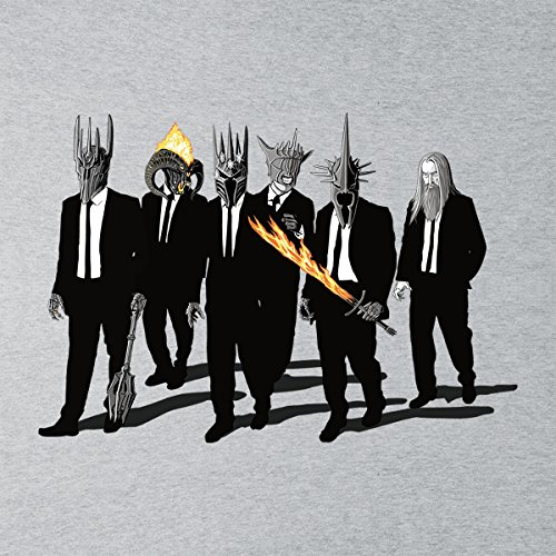 Reservoir Lord Of The Rings Villains Flame Sword Women's Vest Heather Grey