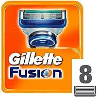 Gillette Fusion Cuchillas de Recambio para Maquinilla de Afeitar - 8 unidades